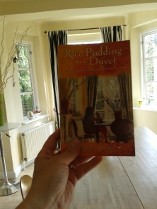 My first novel - Rice Pudding in a Duvet, the journey home with snacks