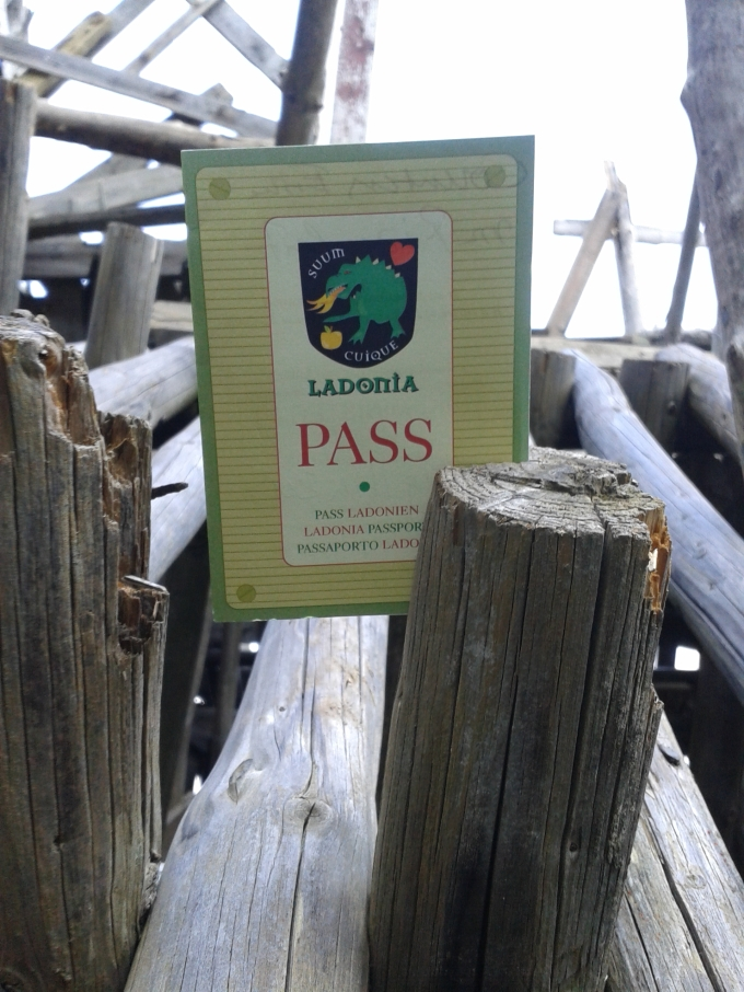 Passport for the Micro Nation of Ladonia