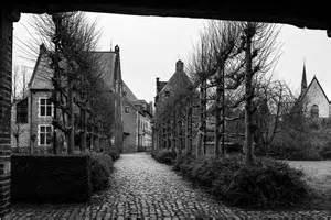 The Beguinhof, Leuven. Belgium