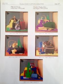 Merchandising Catalogue. Heather Gartside for Louis Vuitton. 1995
