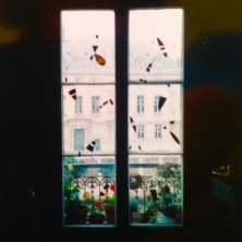 Mobiles, Paris. Heather Gartside. 1994