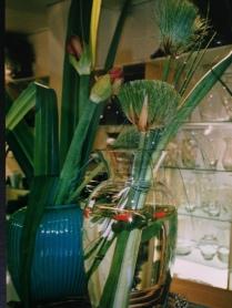 Flower Power. The Conran Shop, London. Heather Gartside. 1990