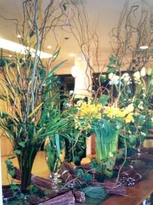 Flower Power. Heather Gartside. The Conran Shop, Paris 1993
