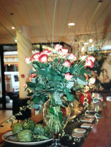 Flower Power. The Conran Shop, Paris. Heather Gartside, 1991