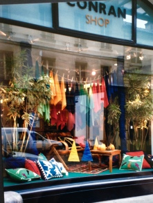 Window Display. The Conran Shop, Paris. Heather Gartside. 1993