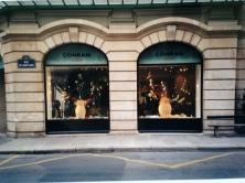 Window Display. Heather Gartside. The Conran Shop, Paris