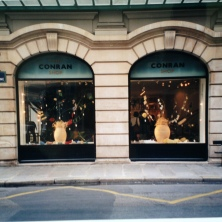 Window Display. Heather Gartside. The Conran Shop, Paris