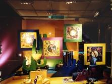 Window Display for Louis Vuitton, Paris. Heather Gartside 1994