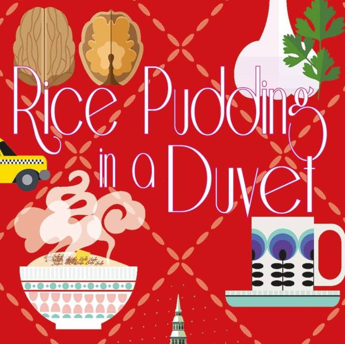 The new cover of Rice Pudding in a Duvet